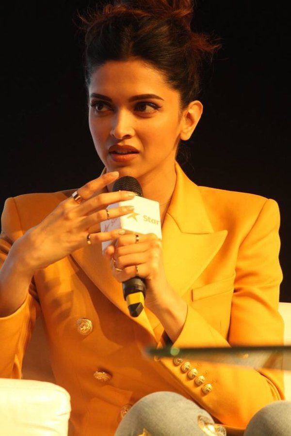 Deepika Padukone at the Mumbai International film festival 2015