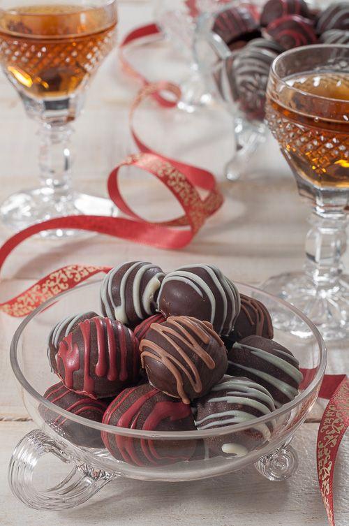 """Шоколадови бонбони """"Винен пунш"""""""