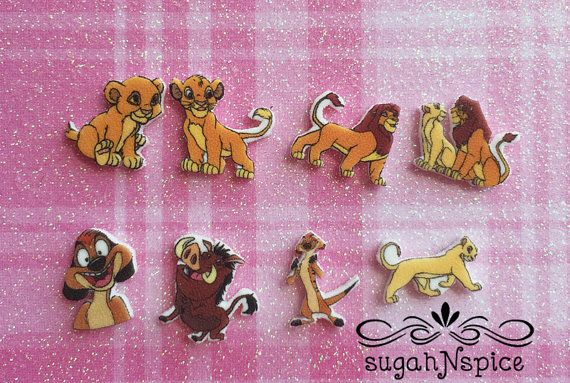 The Lion King Floating Charm  The Lion King Charms  by sugahNspice