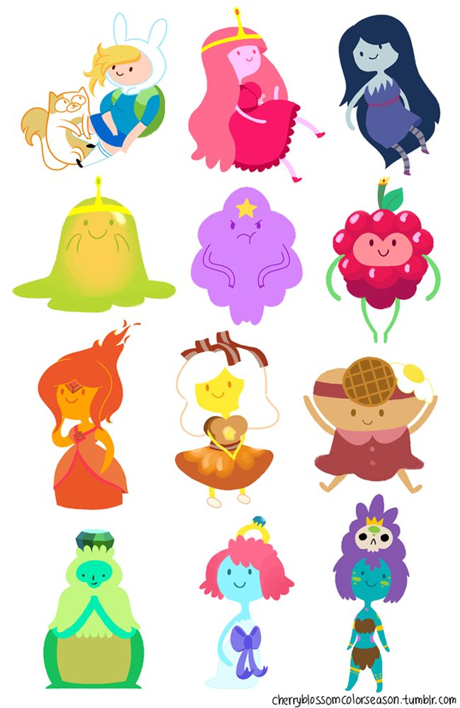 Slime Princess, you're alright! Flame Princess, you're ok! Wild Berry Princess could be better. All of the princesses are pretty alright but, oh Bubblegum!