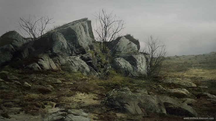 Rocks, Ste Flack on ArtStation at https://www.artstation.com/artwork/rocks-0a3da4e6-21d9-4264-95b1-54ba4672f769