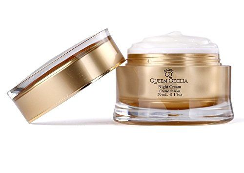 Queen Odelia Anti Aging Moisturizer Night Cream with Cactus Oil Dead Sea Minerals and Vitamin E 17 oz ** For more information, visit image link.