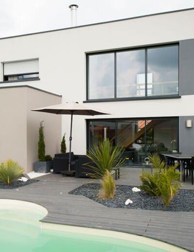 201 best Extérieurs maisons images on Pinterest Balconies