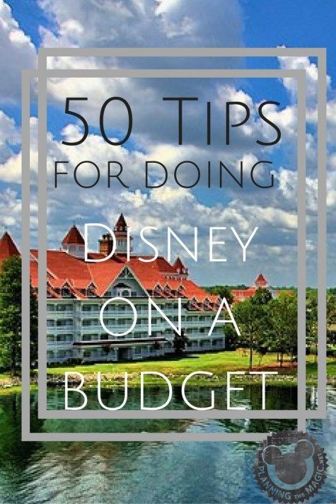 Doing Disney on a budget is very far from impossible. In fact, I suggest it for anyone who truly wants full control of their vacation. Being aware of your vacation budget is recommended. I put together 50 Tips for going to Disney on a budget to help anyone trying to accomplish an economical vacation. Read this to find ways to save on Disney tickets, set up a free and easy yet separate Disney vacation account, and more! For more information visit http://www.planningthemagic.net