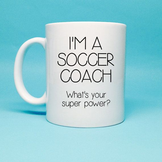 Gift For Soccer Coach Soccer Coach Gift by TheCoffeeCorner