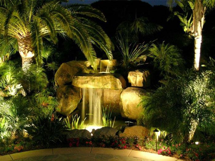 artistic outdoor lighting. pool area and landscape lighting design by artistic illumination outdoor
