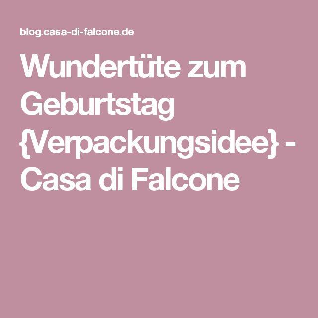 Wundertüte zum Geburtstag {Verpackungsidee} - Casa di Falcone