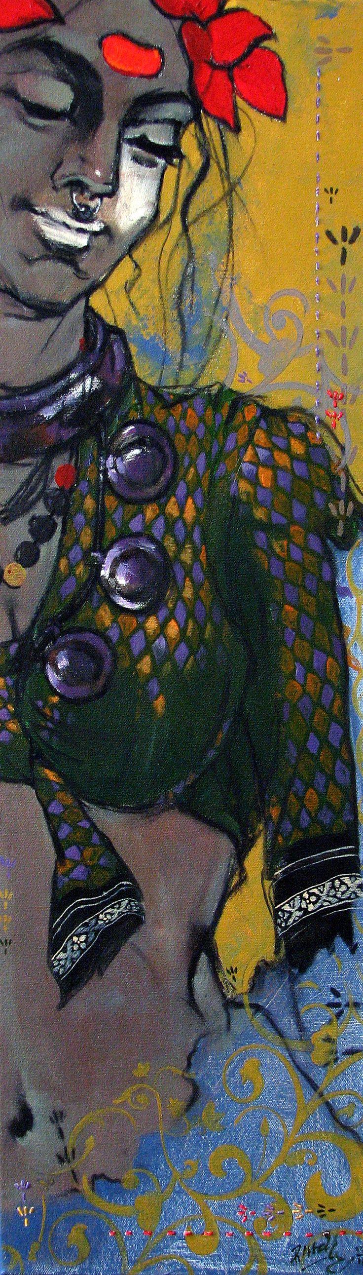 Ramchandra Kharatmal: Beauty-2 (SOLD)