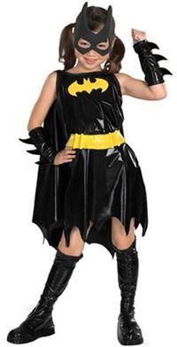 Batgirl Kostüm Lüks, L (5-7 yaş) Parti Kostümleri - Kız Çocuk Parti Kostümleri Çizgi Film Kahramanı Kostümü, Karakter Kostümü: Kostümlü Parti, Kıyafet Balosu, Okul Gösterileri, Temalı Doğum Günü Partileri için ideal kostüm.  Maske, bileklikler ve pelerinli kostüm. 5-7 yaş için uygundur.