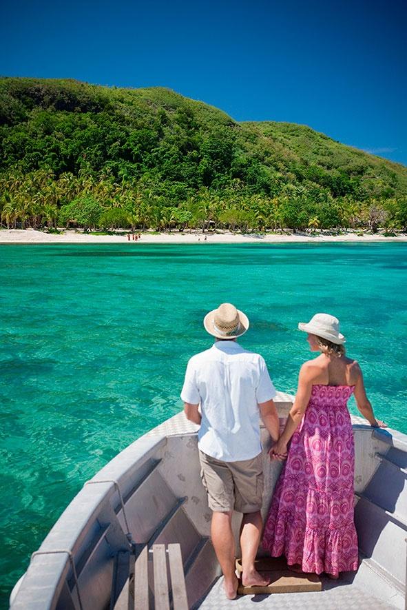 Adventure and romance at Tokoriki Island Resort, Fiji. #TokorikiIslandResort #Fiji #Holidays #Romance