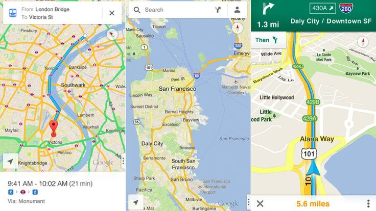 Google Maps for iOS Returns, Offered for Download Now