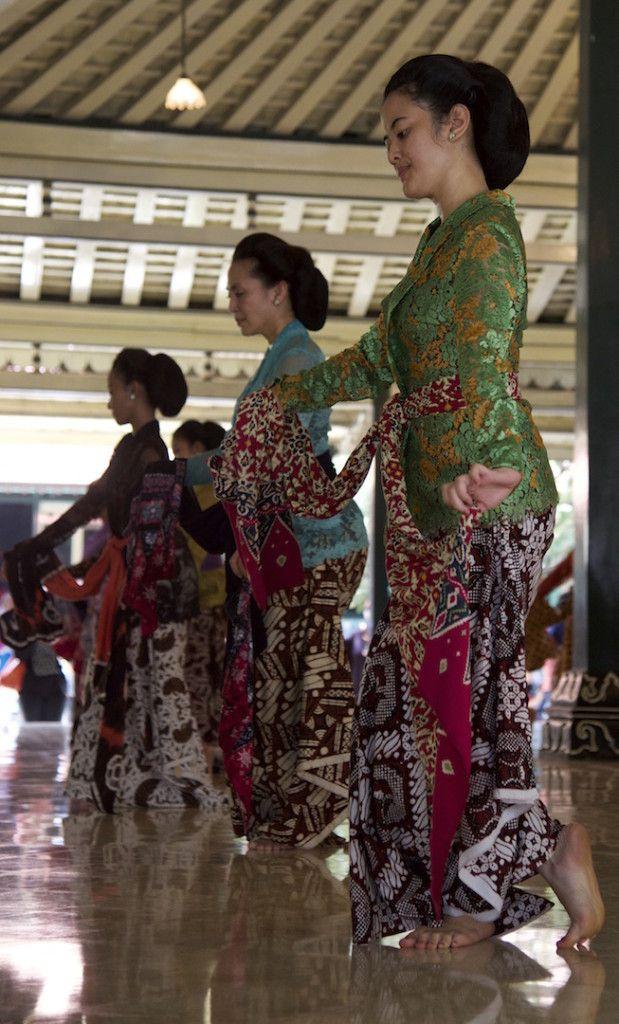 Dancers in Kraton Yogyakarta Indonesia
