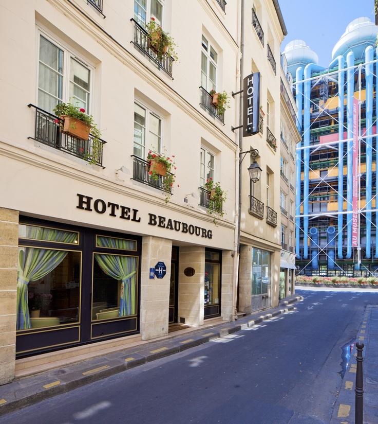 Hotel Beaubourg  Rue Simon Lefranc  Paris