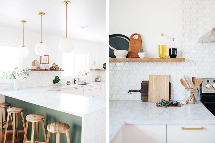Keuken Olijfgroen : Keuken op Pinterest – Bruine Woonkamers, Groene Keuken en Groene