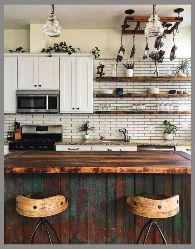 Looking for Some Wonderful Ideas to Create a Shabby Chic Theme in Your New Kitchen?