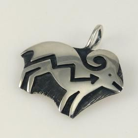 Ram Pendant by Anderson Koinva - Garland's Indian Jewelry