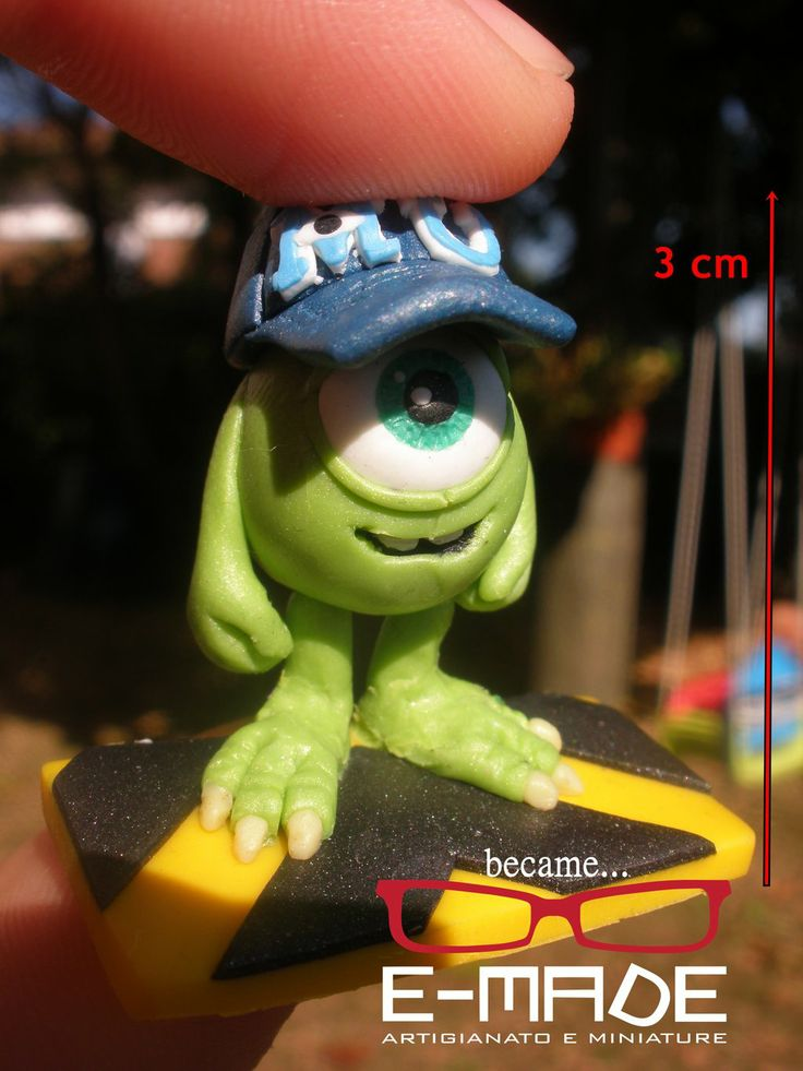 Baby Mike Wazowski from Monster University by E-made.deviantart.com on @deviantART