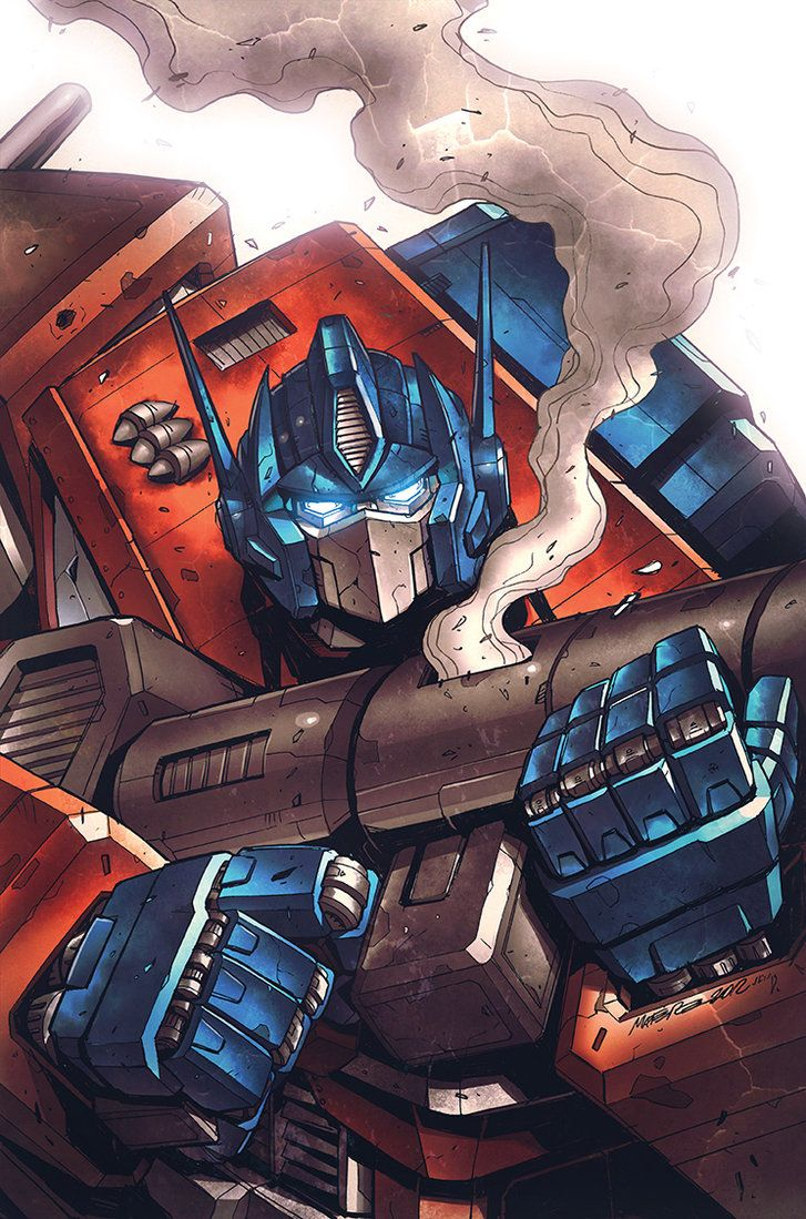 Transformers MTMTE #9 RI cover colors by *khaamar on deviantART