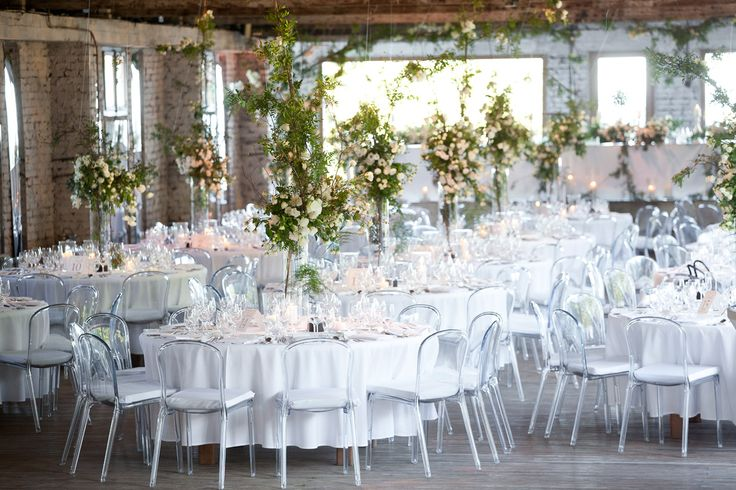 White garden seaside wedding reception,with use of wild rose & eustoma, Stara Cegielnia - Rzucewo, Poland, by artsize.pl