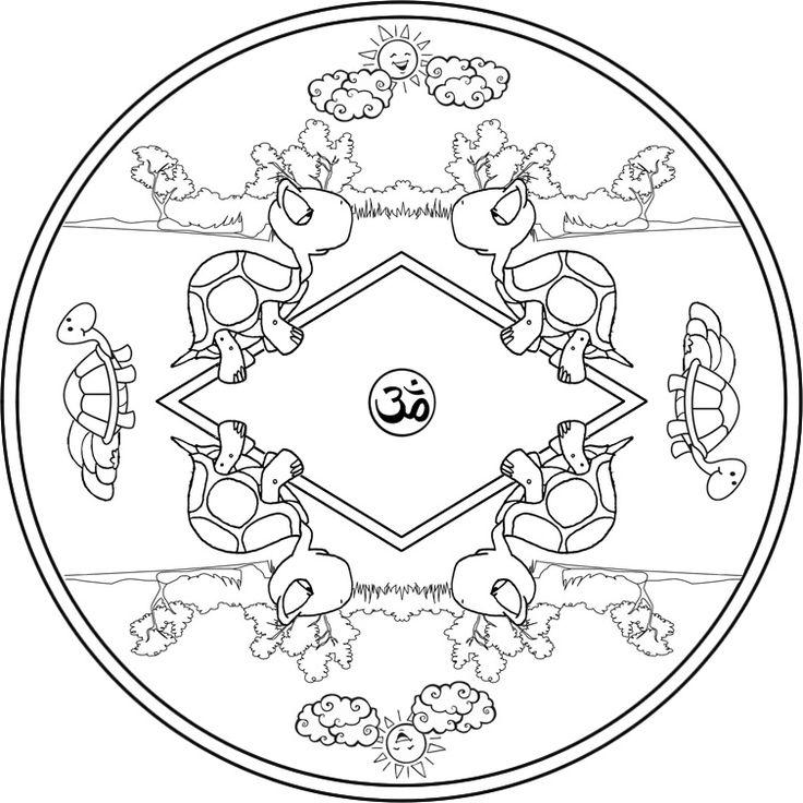 Mandalas de cuentos para ni os buscar con google for Mandalas ninos