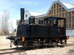 Locomotora de vapor 020-0232 (Couillet, Bélgica, 1885) Cesión: Associació per la Reconstrucció i Posta en Servei de Material Ferroviari Hist...