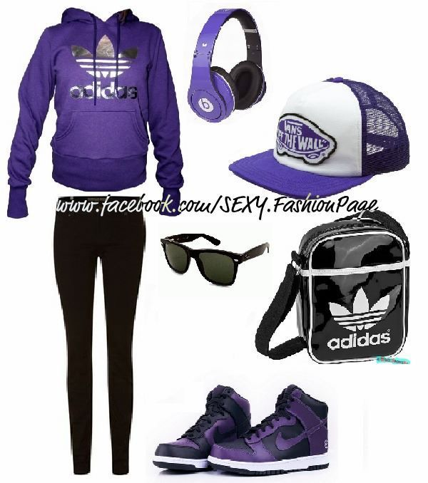 LOVE. except those nikes with the adidas outfit -.-