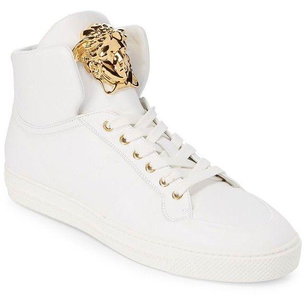 versace white high tops