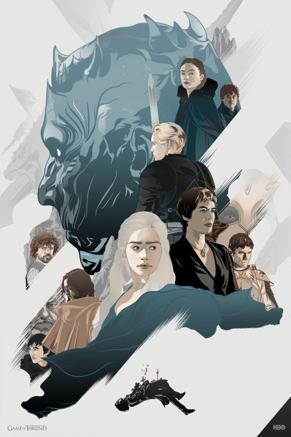 Game of Thrones by aseo