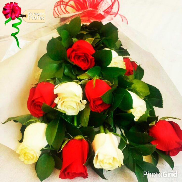 Amor espiritual 12 rosas