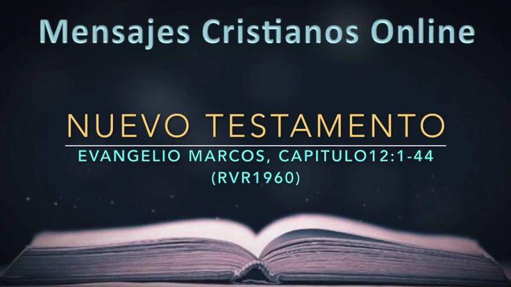 12) NUEVO TESTAMENTO – MARCOS12:1-44- LA BIBLIA EN VIDEO AUDIO HABLADA -...