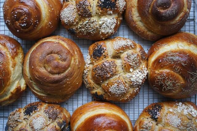 For a variety of challah recipes, ranging from Honey Whole Wheat to Double Chocolate Chip to Gluten-Free, go to The Nosher, MyJewishLearning's l ...