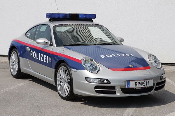 Porsche 911 Police Car Check out THESE Porsches! --> http://germancars.everythingaboutgermany.com/PORSCHE/Porsche.html