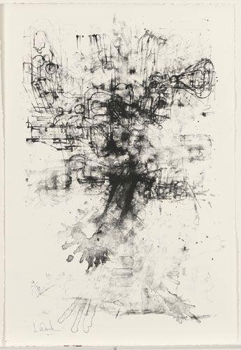 Jules Lismonde : Itinerarium. Album met 4 steendrukken (15/50)