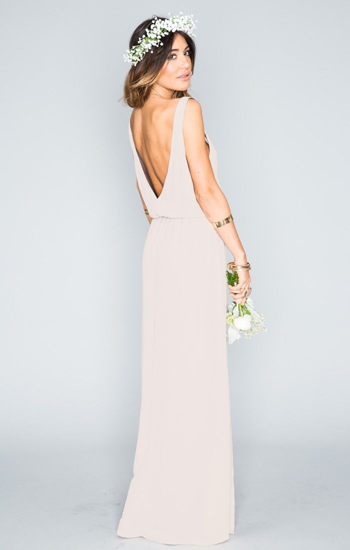 Kendall Maxi Dress - Show Me the Ring Crisp | Show Me Your MuMu