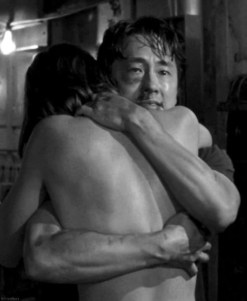 The Walking Dead <<< This is the episode where my utter hate for the Governor and utter respect for Glenn was revealed