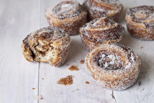 Cinnamon Rolls using the 20 Minute Croissant Dough.
