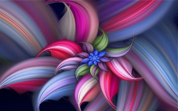Beautiful 3d Flowers Wallpapers Abstract Flowers Cartoon Flowers Rose Flower Wallpaper