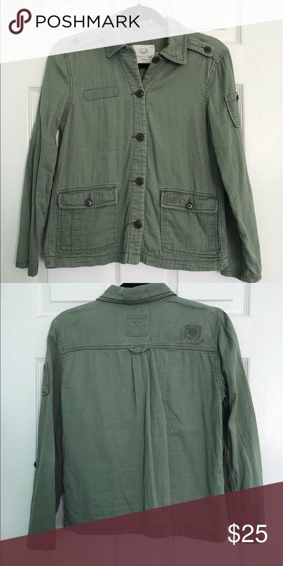 Green American Eagle Jacket Green Jacket! American Eagle Outfitters Jackets & Coats Pea Coats