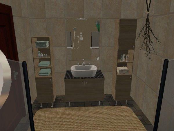 Virtual Home Decorating modern urban loft style bathroom virtual home décor designs using