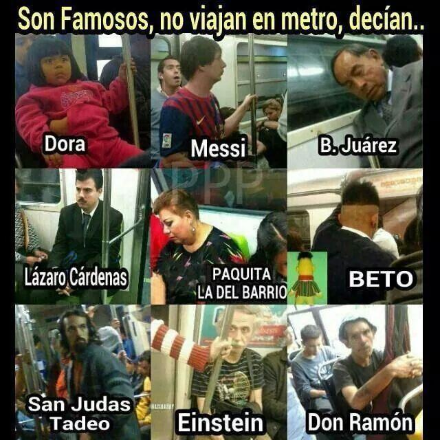 Personajes famosos.