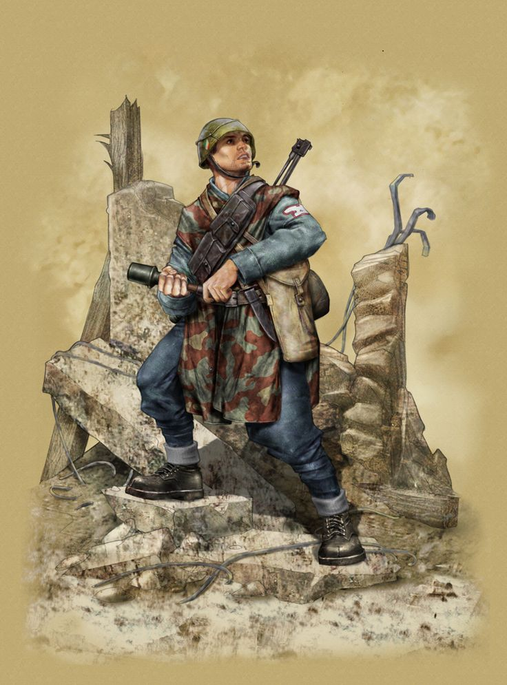 Italian ww2 soldier for twisting-toyz.com Sketch by Davide Fabbri Coloring and texutizing by me and if you like it.. keep watching 'cause i've made many of them