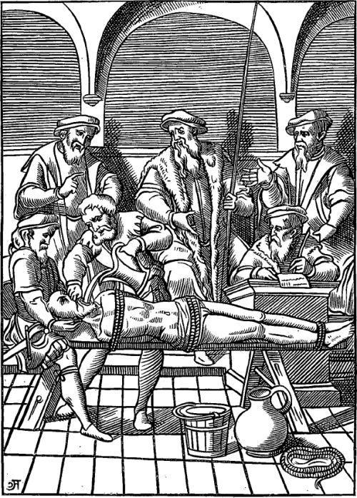 Coutumes et traditions au Moyen-âge.. Pénalités, supplices et tortures.