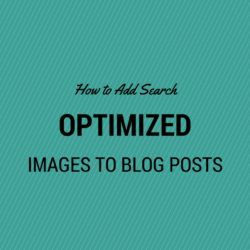 Add search Optimized images to blog posts