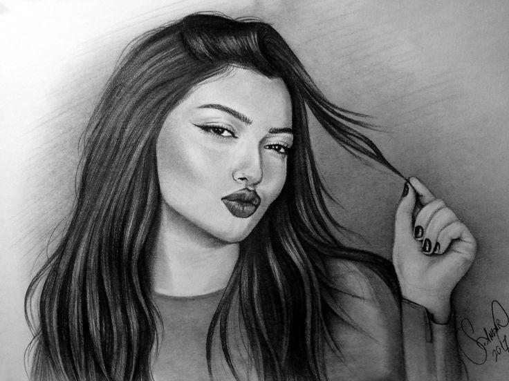 Pencil Drawing Danla Bilic