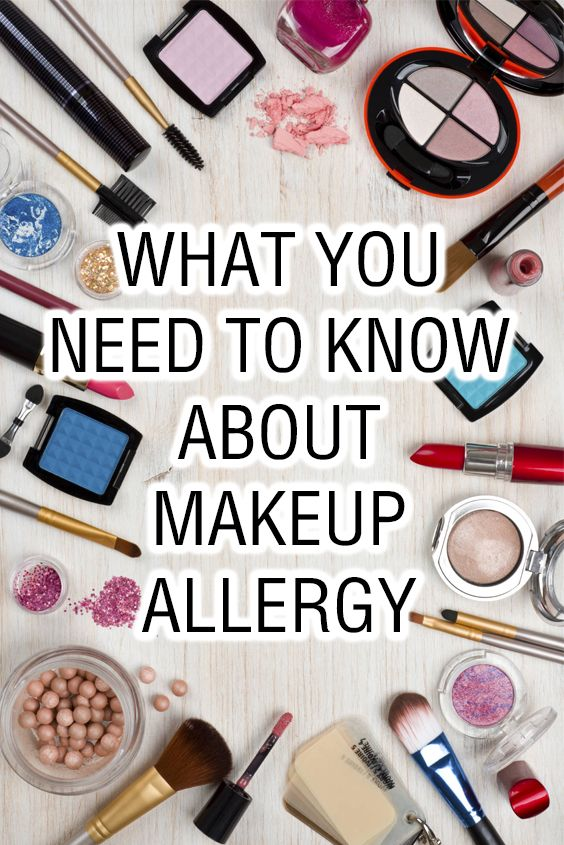 What You Need to Know About Makeup Allergy Makeup