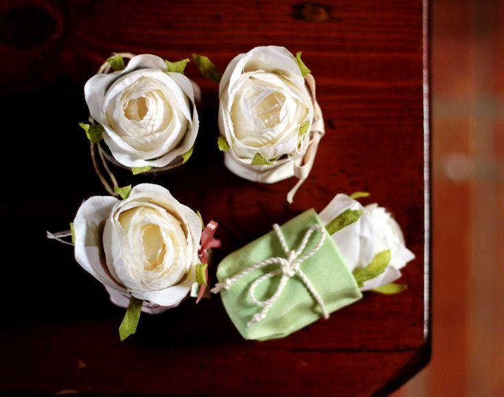 Bomboniera con Rose per qualsiasi evento... semplice ma di grande effetto #bomboniere #ceremonie #labottega