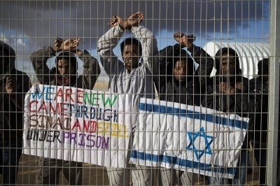 """It would be difficult to imagine a greater blow to Judaism than the shameless remark by Prime Minister Benjamin Netanyahu that the protection of the human rights of African asylum seekers is harmful to the rights of the Jewish people (Netanyahu used the made-up word le'om – """"nation"""")."""