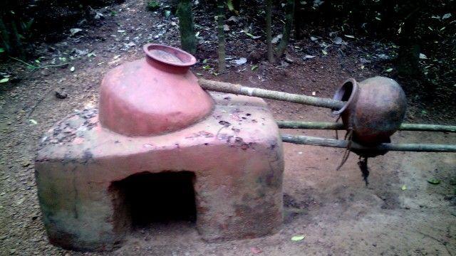Самогонный аппарат для изготовления водки из цветков кэшью