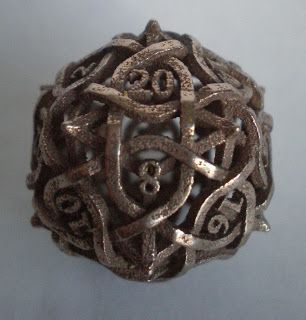 A D20 & D4, Dice for my B-Day | Rogue's Theory