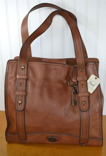 Fossil Tote You Can Never Go Wrong With A Solid Leather Bag